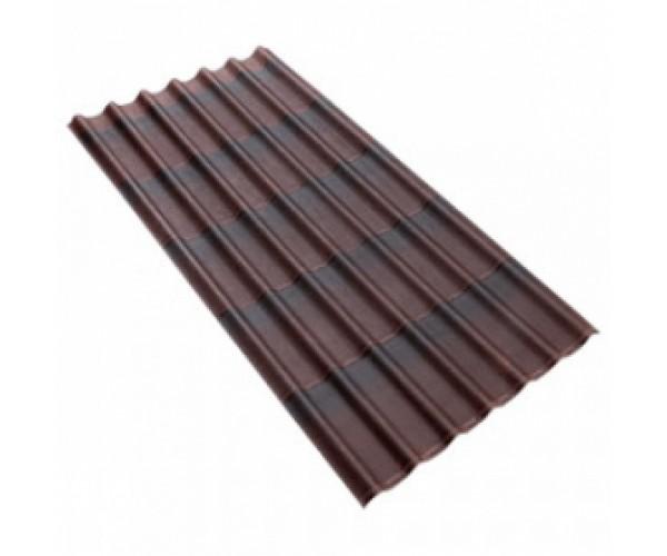Лист Ондулин SMART коричневый 1,95x0,96м