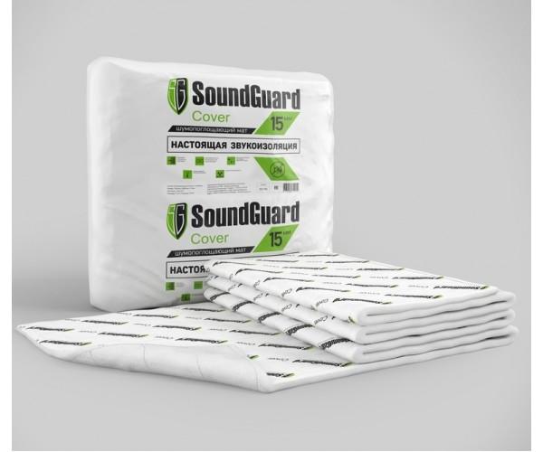 SoundGuard Cover Звукоизоляционный мат 15мм