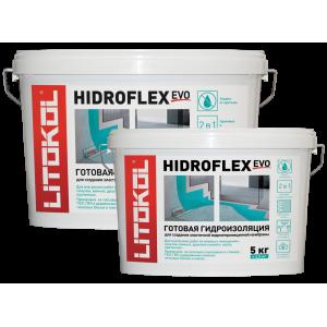 Гидроизоляция Litokol HIDROFLEX, зеленый, ведро 17 кг