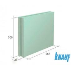 Пазогребневая плита (ПГП) КНАУФ 667х500х100мм гидрофобная