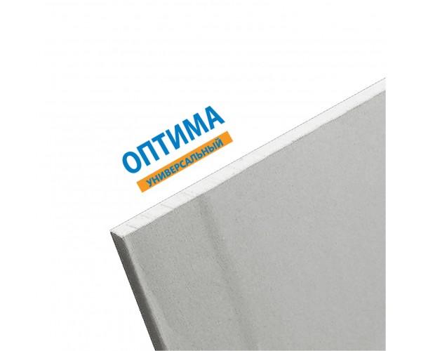 Гипсокартон Gyproc Оптима стандартный 2500х1200х12,5