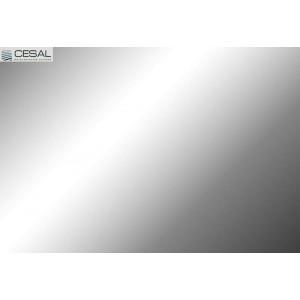 Рейка S-дизайн А08 150*3000мм, Хром люкс Cesal (Альконпласт)