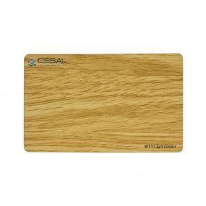 Кубообразная рейка C-дизайн С80 731 80*50*3000мм, Дуб селект Cesal (Альконпласт)