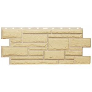 Фасадная панель Дикий камень 1001 455х1090мм, Желтый Т-Сайдинг