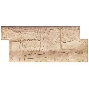 Фасадная панель Гранит Леон 1013-1011 455х1090мм, Саяны Т-Сайдинг
