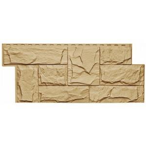 Фасадная панель Гранит Леон 1011 455х1090мм, Бежевый Т-Сайдинг