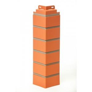 Угол наружный Кирпич облицовачный 119х485мм, Керамический FineBer