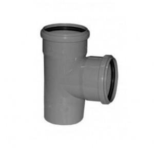Тройник канализационный 110х110мм, 90 градусов