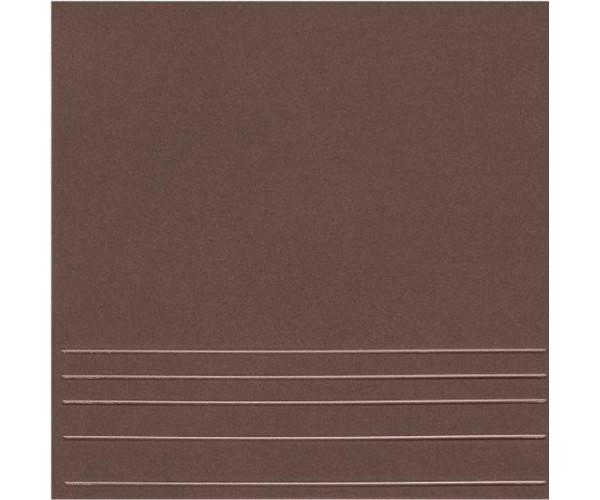 Керамогранит 298*298мм Амстердам 4 ступени коричневый Керамин