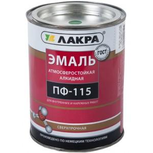 Эмаль ПФ-115 бирюза 2,8кг Лакра