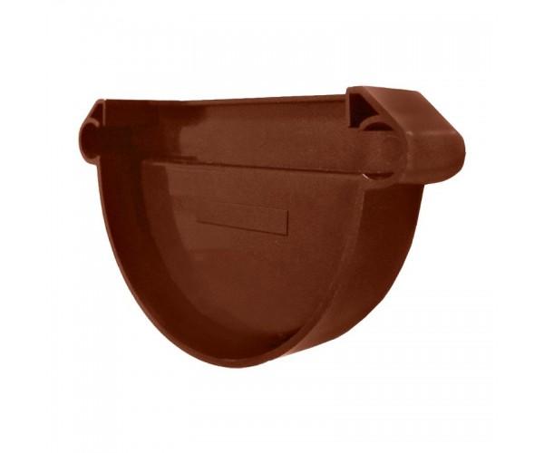 Заглушка желоба универсальная коричневая Мурол