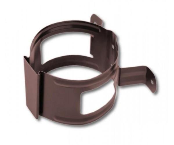 Держатель трубы металлический коричневый