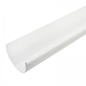 Желоб водосточный белый 2 м, Мурол