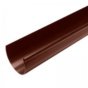 Желоб водосточный коричневый 2 м, Мурол