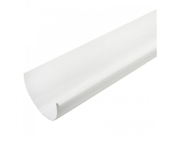 Желоб водосточный белый 3 м, Мурол