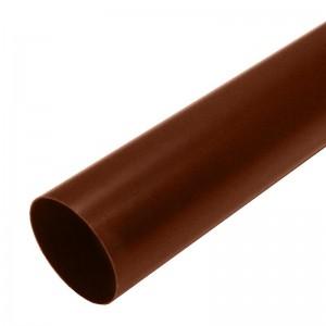 Труба водосточная коричневая, 3 м Мурол