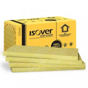 Теплоизоляция ISOVER Оптимал (100*600*1000) 4шт. 2,4м2 (0,24м3), 34кг/м3
