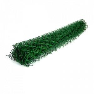 Сетка-рабица в ПВХ покрытии 50х50х2,5мм, 1,5х10м зеленая