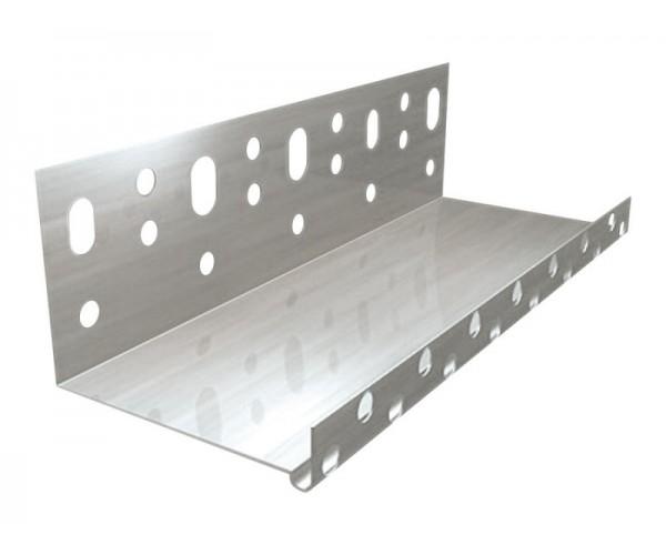 Профиль цокольный алюминиевый 50мм*2,5 м