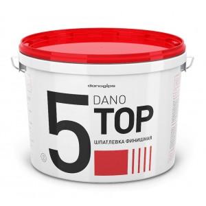 Готовая финишная шпаклевка, 5,6кг белая DANO TOP 5