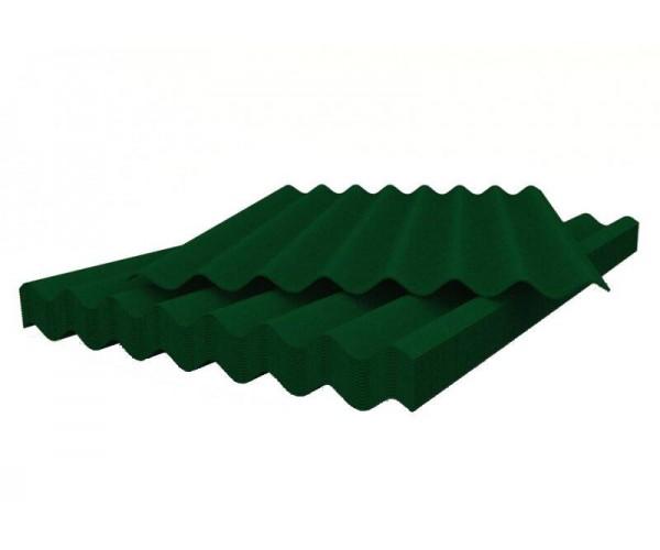 Шифер волновой зеленый 5,8*1130*1750 Белгород