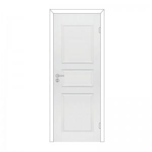 """Дверное полотно с притвором """"Каспиан"""" М7х21 филенчатое крашенное белое Олови"""