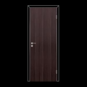 Дверное полотно глухое с фурнитурой 700*2000 венге Олови