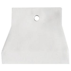 Шпатель резиновый белый, 100мм Т4Р Лакра