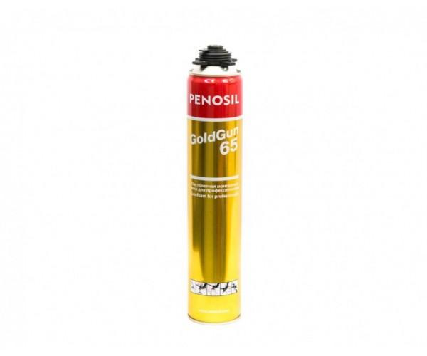 Пена монтажная профессиональная Penosil Gold Gun 65 (875 мл)