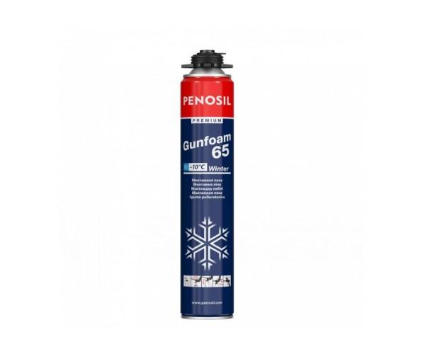 Пена монтажная профессиональная Penosil Premium Gunfoam 65 зимняя (800 мл)