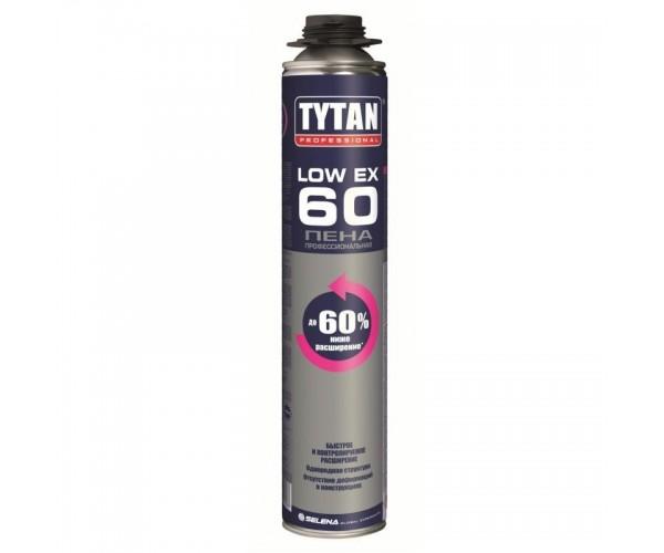 Пена монтажная профессиональная Low Expansion Tytan Professional (750 мл)