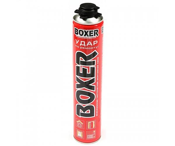 Пена монтажная профессиональная всесезонная Boxer Pro (700 мл)