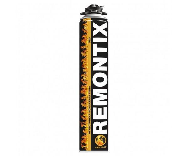 Пена монтажная огнестойкая Remontix Pro (750 мл)