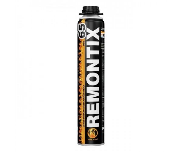 Пена монтажная огнестойкая REMONTIX PRO 65 (850 мл)