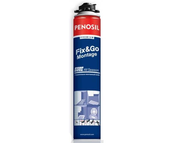 Клей-пена для пенопласта Fix&Go Montage Penosil Premium (750 мл)