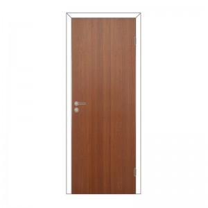 Дверное полотно глухое с притвором 625*2040 Орех 3D Олови