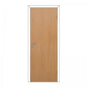 Дверное полотно глухое с притвором 825*2040 Дуб 3D Олови
