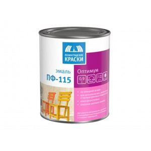 Эмаль ПФ-115 шоколадная Оптимум ТЕКС 0,9кг