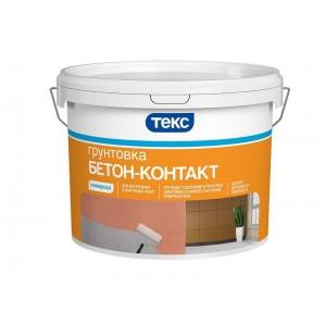Грунт Бетон-контакт адгезионный акрилатный Универсал ТЕКС 12 кг