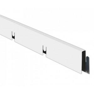 Грильято профиль МАМА 150*150мм, алюминий Белый матовый Эконом