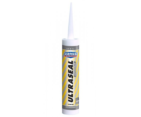 Герметик акриловый Ultraseal белый KRASS (260 мл)