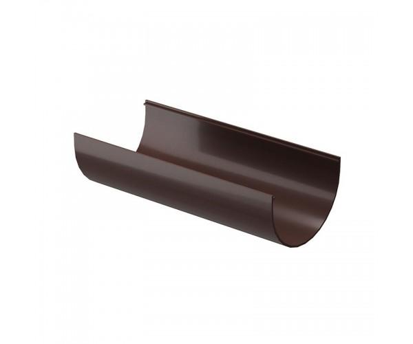 Желоб водосточный 3м, шоколад Дёке PREMIUM