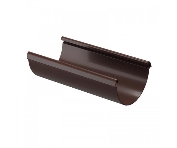 Желоб водосточный 3м D141мм, шоколад Дёке LUX