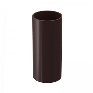 Труба водосточная (3м) D100мм, шоколад Дёке LUX