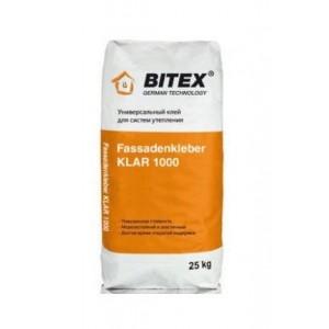 Штукатурно-клеевая смесь Bitex Fassadenkleber KLAR 1000, 25 кг
