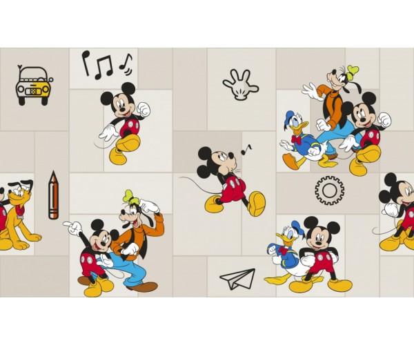 Обои виниловые на флизелиновой основе Disney Mickey Mouse 10*1,06м E-D-001А Erismann