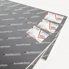 Звукоизоляционная панель АкустикГипс M1 (1,2м*0,59м*17мм) 0,708м2 ТехноСонус