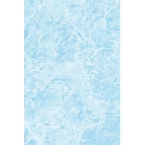 Плитка Мрамор настенная 200х300 мм синяя БКСМ