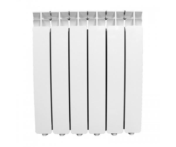 Радиатор алюминиевый 500*80, 6 секций Oasis