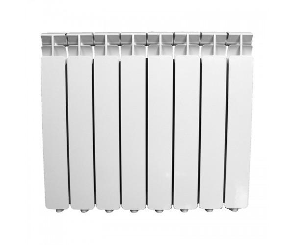 Радиатор алюминиевый 500*80, 8 секций Oasis